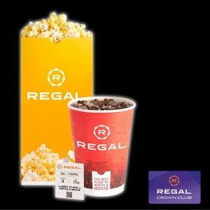 共$35+$5买爆米花和饮料Regal 电影套票,可看小妇人、1917等7部2019最佳电影,不限次