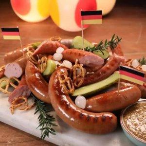 肉食类宝宝们看过来德国下午茶吃香肠?盘点在德国必须要尝的10种香肠