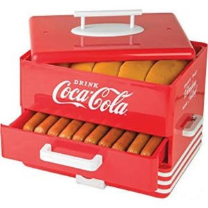 $29.99Nostalgia HDS248COKE Large Coca-Cola® Hot Dog Steamer @ Walmart