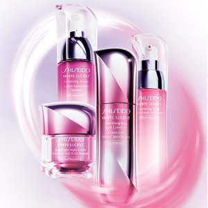 Choose 3-pc Gift (up to $112 value)With White Lucent Collection purchase @ Shiseido