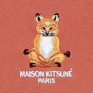 2折起 大头狐狸$74收啦Maison kitsune 法日混血品牌 人见人爱潮萌小狐狸