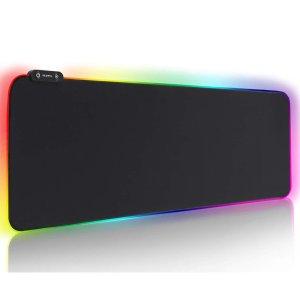 $29.99(原价$39.99)RGB 炫彩鼠标垫 大小两种可选 在桌面画道彩虹