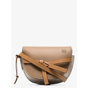 Loewebrown Gate small leather cross body bag | Browns