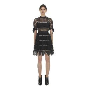 Self PortraitCrochet Scallop Mini Dress
