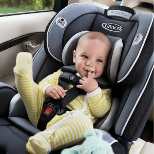 Graco 4Ever 4-in-1 Convertible Car Seat, Cameron Gray