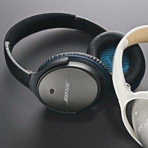 $179(原价$229) 可变成无线耳机Bose QC25 主动降噪有线耳机 苹果版