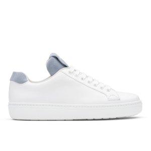 Boland w Calf Leather Classic Sneaker White