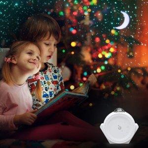 $49.99(原价$52.99)Titita 3合一 星空投影儿童小夜灯 房间夜晚繁星点点