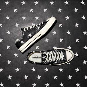 5折起+额外7折 大Logo款$42折扣升级:Converse 黑色帆布鞋降价热卖