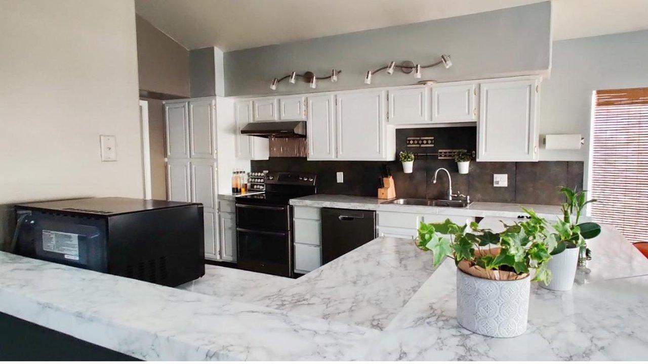 [经验分享] 如何花$200以内给厨房和浴室整容