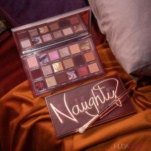裸色必备 $67入手+送化妆包上新:Huda Beauty Naughty Nude 眼影盘尝新