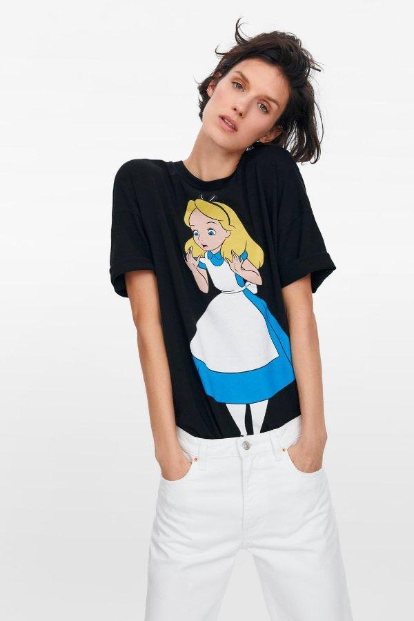 爱丽丝T恤
