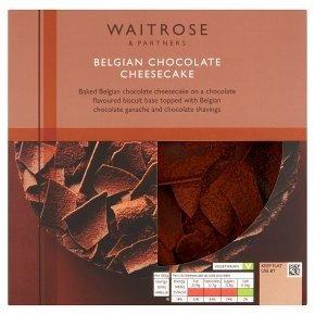 比利时巧克力芝士蛋糕