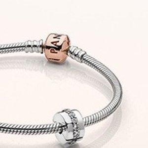 $130起11.11独家:PANDORA Jewelry官网 精选Iconic 系列手镯特惠