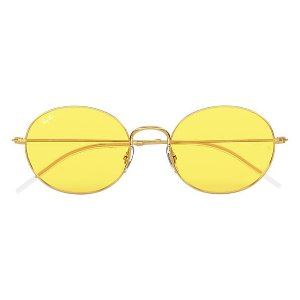 Ray-Ban柠檬黄墨镜