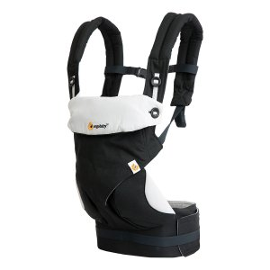 ErgobabyShadow Black 360 All-Position Baby Carrier