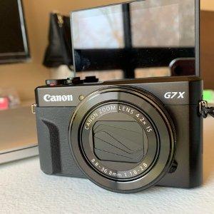 全网最低!折后€444 原价€599手慢无:Canon 佳能 G7 X Mark II 博主入门机 Vlog神器