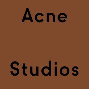 低至4折 Logo围巾£ 115 草莓手包、条纹毛衣款全上新:Acne Studios 折扣区大换血 收新款围巾、毛衣、卫衣全在线