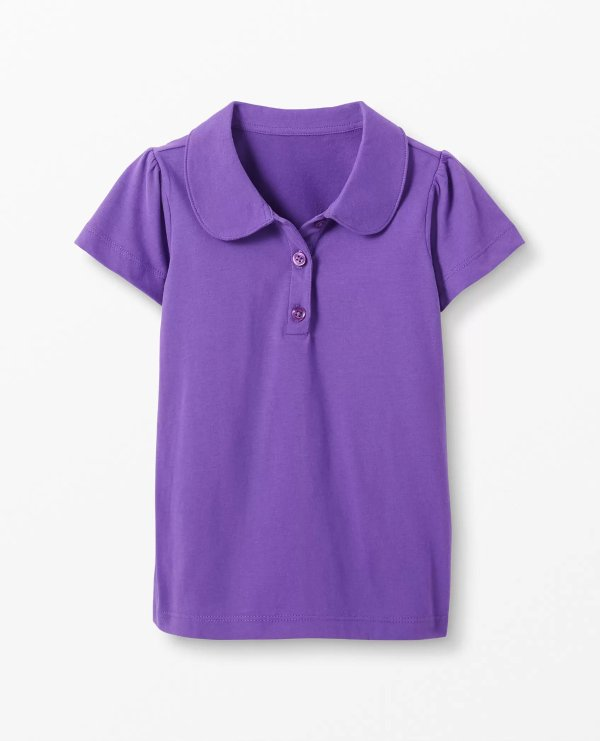女童短袖polo