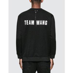 Team Wang Logo Print 卫衣