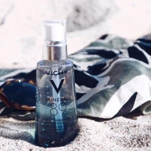 Vichy Mineral 89 Hyaluronic Acid Face Serum Moisturizer to Hydrate Skin