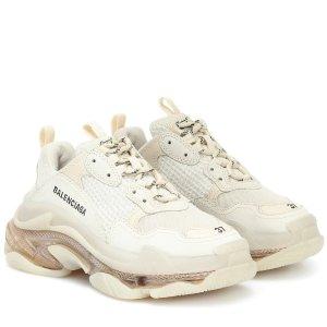 一律8.5折 £590收新款老爹鞋折扣升级:Balenciaga 春季折扣 新色老爹鞋、机车包都参加