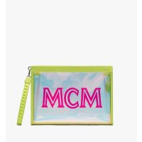 MCM 透明沙滩手拿包