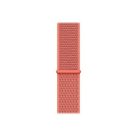 Watch 44mm 回环式运动表带 桃红色