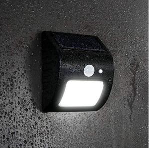 $7.99(原价$24.99)Aglaia 太阳能防水运动感应灯