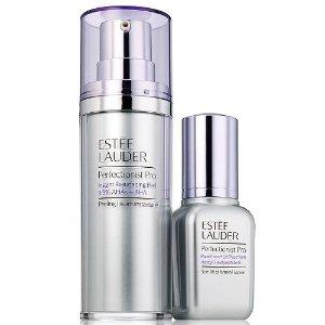 售价$100Estée Lauder 新款限量线雕小银瓶套装