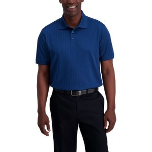 HaggarTextured Polo