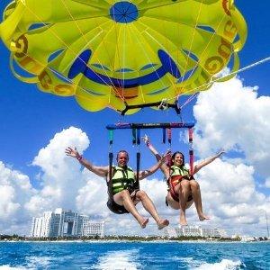 双人$104起夏威夷火鲁奴奴钻石头山 帆伞滑翔体验