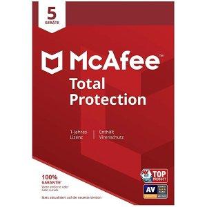 McAfee1年5用户