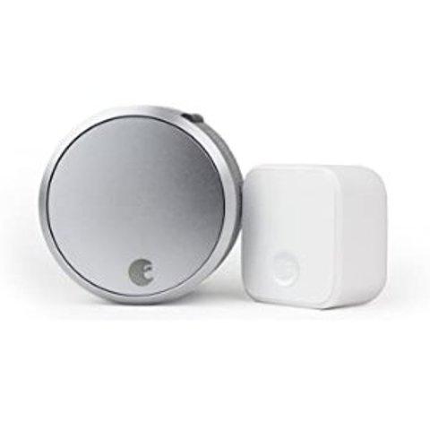 $211(原价$299)August 第三代智能门锁 Pro + Wi-Fi 连接器