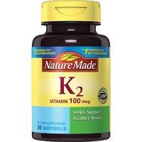Nature Made 维生素K2 100mcg 30片