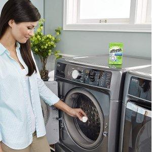 $8.99 干净清新Whirlpool Affresh 洗衣机清洗剂 3片装 去气味无残留