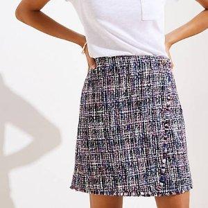 小香风短裙