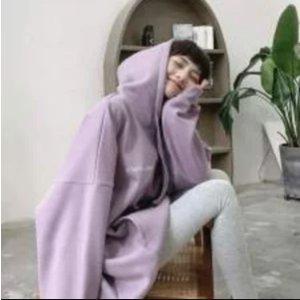 Puma卫衣 香芋紫