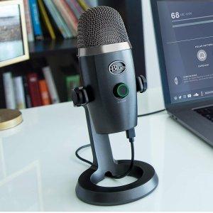 $109.99(原价$139.99)Blue Yeti Nano Premium USB 电容麦克风 三色可选