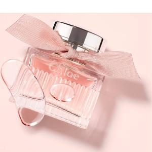 100ml售价$128(原价$160)Chloé 玲珑玫瑰淡香水 珊瑚粉丝带 花香西普调