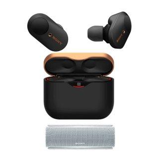 11.11獨家:Sony WF-1000XM3 降噪豆3代 + Sony SRS-XB21 藍牙音箱