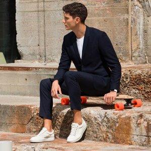 无门槛8折+包邮 $144收轻便运动鞋ECCO 爱步男士休闲鞋特卖 感受漫步云端的舒适感