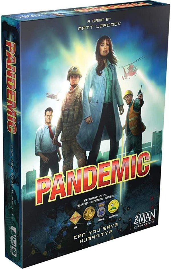 Pandemic 益智桌游