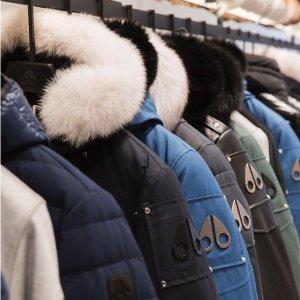 无门槛7.5折 $671收毛球羽绒服Moose Knuckles 时尚专场,收超火小剪刀羽绒服