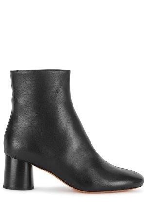 Vince Tasha 65 black leather ankle boots - Harvey Nichols