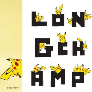 官网款式超多最齐全Longchamp X Pikachu 合作款正式发售 经典配可爱 不心动都难