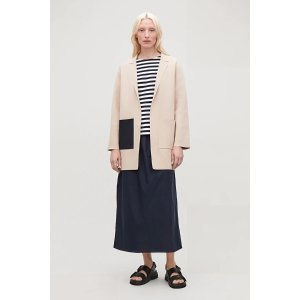 LONG STRUCTURED KNIT JACKET