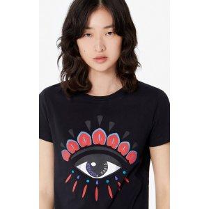 Kenzo大眼睛T恤