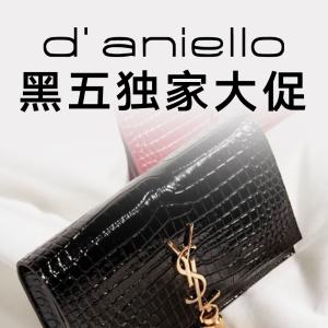 7折 €59收Ami小爱心T恤黑五独家:D'Aniello 全场大促来袭 收BBR、巴黎世家、Ami等