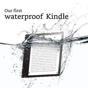 $319.99 (原价$429.99)史低价:Amazon Kindle Oasis 7英寸32GB电子阅读器   超薄防水